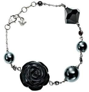 JEU de boucles d\'oreilles et bracelet bracelet EMPORIO ARMANI EG2447/EG2449