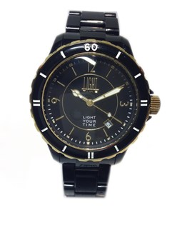 RELOJ Light Time negro L112D