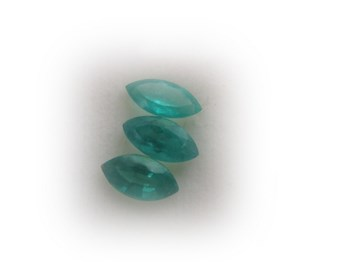 LOT TRIO OF EMERALDS