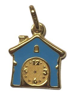 MEDAL GOLD HOUSE BLUE