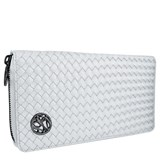 Monedero Mujer Largo Glam Rock Satin Blanco 8435334899938