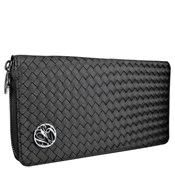Monedero Mujer Largo Glam Rock Satin Negro 8435334899945