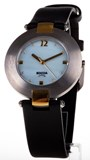 WATCH BOCCIA TITANIUM ANTIALERGICO TWO-TONE STRAP AND DIAL MOTHER-OF-PEARL 364-16
