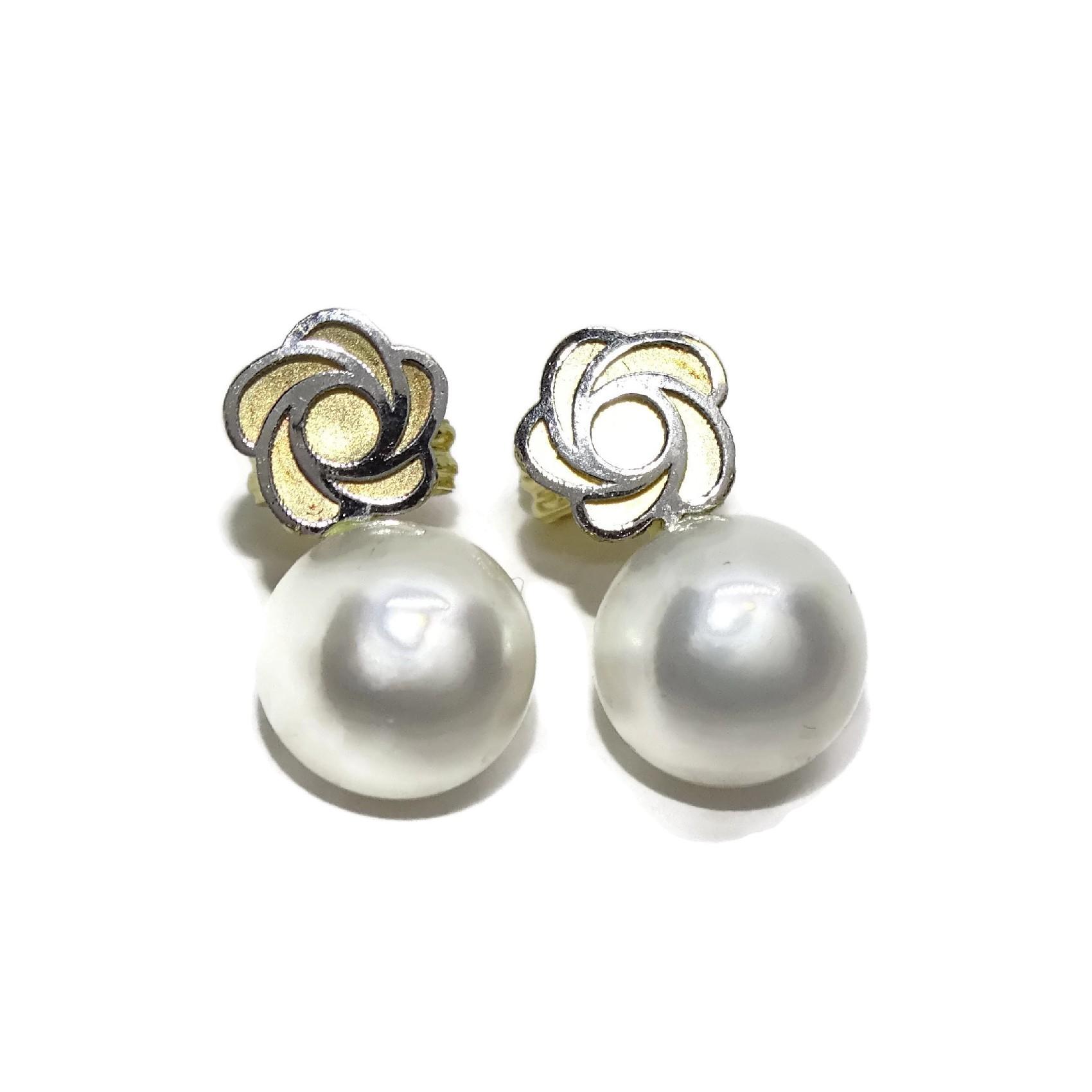 e33a0bdb9ea0 Pendientes    Especial mi 1ª comunión   de oro de 18ktes con perla  cultivadas