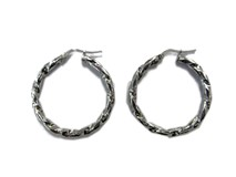 EARRINGS HOOPS ARLEYS 0334