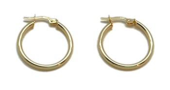 Earrings hoops Creole gold