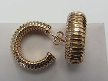 EARRINGS HOOPS TUBOGAS ARLEYS TGM0802 OR