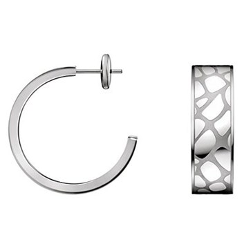 CALVIN KLEIN STEEL EARRINGS KJ56AE010100