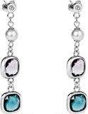 EARRING CATHERINE SQUARE ED. - BCA53 8057438992492 BROSWAY