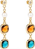 EARRING CATHERINE SQUARE ED. - BCA54 8057438992508 BROSWAY