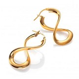 EARRINGS GOLD PLATED MORDEN BIJOUX VICEROY B1057E100-06