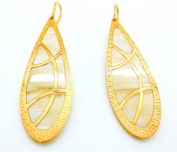GOLD PLATED EARRINGS Rebecca BDEORC02