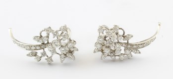 Boucles d'oreilles de diamants LevoP1039
