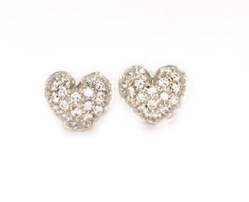 0071 brilliant heart earrings GIORGIO VISCONTI