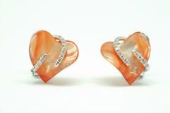 Boucles d'oreilles or et diamant