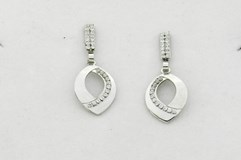 EARRINGS WHITE GOLD N 33