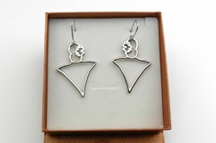 SILVER EARRINGS - OWN - EPL0002
