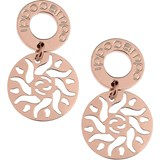 EARRINGS IPPOCAMPO SILVER PINK IPPE23 IPPOCAMPO JEWELS