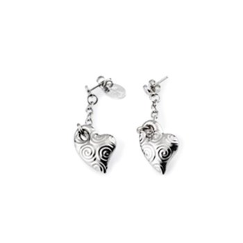 Lotus earrings silver LP1009-4/1