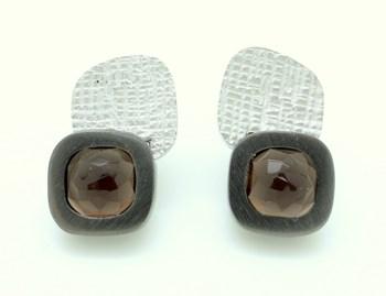 EARRINGS SILVER A885 LUXENTER