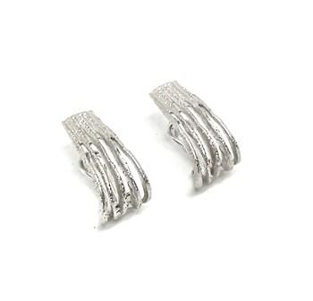 EARRINGS SILVER ARGENTBASIC-SHAPED DIAMOND ARRM022 ARGENT BASIC