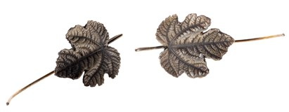 EARRINGS SILVER FINK GOLDSMITHS REPLICA LEAF VINE 71025031