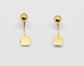 EARRINGS GOLD Espaijoia PEND673