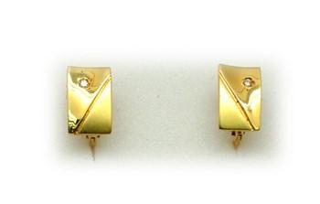 Diamants boucles d\'oreilles or