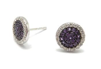 Boucles d\'oreilles or et diamants