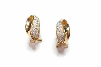 EARRING EARRING GOLD OMEGA - OWN - I-5067/OM