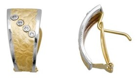 EARRING EARRING GOLD - OWN - 1660-OMEGA