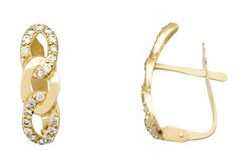 EARRING EARRING GOLD - OWN - 2125-CATALAN