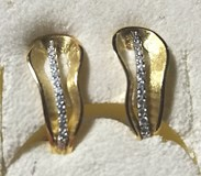 EARRING EARRING GOLD - OWN - 2430-OMEGA