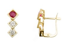 EARRING EARRING GOLD - OWN - 2646-CATALAN