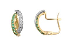 EARRING EARRING GOLD - OWN - 2908-CATALAN