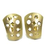 Pendientes de oro amarillo de 18ktes fiesta de estrellas Never say never