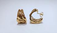 Pendientes de plata y baño de oro amarillo  Roberto Coin