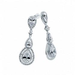 PENDIENTES DIAMONFIRE TALLADOS COMO DIAMANTES 6216621082 DiamondFire