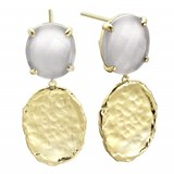 EARRINGS DURAN EXQUSE SILVER BA�ADA IN GOLD 00506858