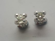 EARRINGS WHITE GOLD AND NATURAL DIAMONDS (B-79