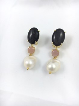 18-132334 BAROQUE PEARL EARRINGS