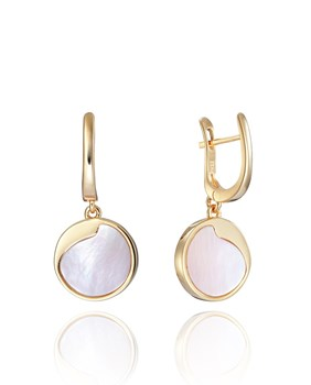 EARRING VICEROY SILVER BA�OR ROSE GOLD AND PINK STONE 3012E100-96