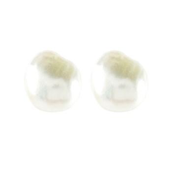 Pendientes perlas cultivadas barrocas