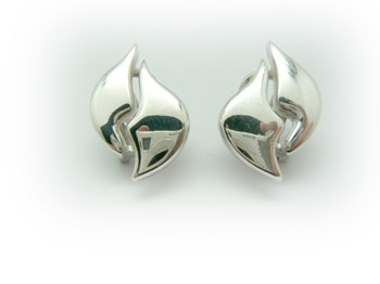 EARRINGS SILVER LARGE AR-508 B-79