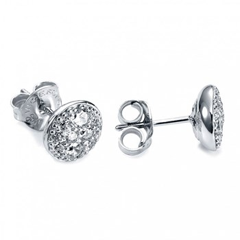 EARRINGS SILVER RHODIUM-PLATED AND ZIRCONS VICEROY PENELOPE CRUZ 1194E000-30