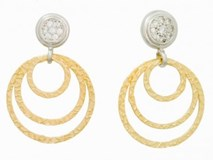 EARRINGS SILVER BREAM AND ZIRCONITAS 9136PQA Marina Garcia