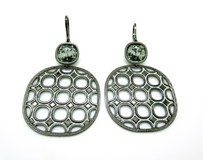REBECCA B7OONN09 STERLING SILVER EARRINGS