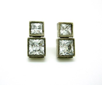 SILVER EARRINGS STYLIANO PL99