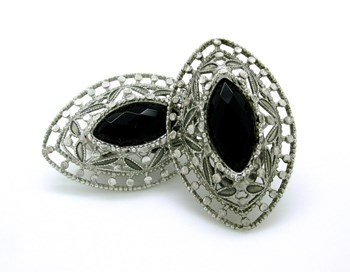 VICEROY STERLING SILVER EARRINGS  LP1043-4/3