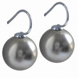 EARRINGS TI SENTO SILVER 7200PG